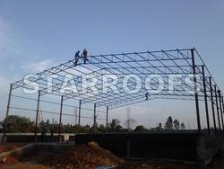 Roofing Shed Construction Work