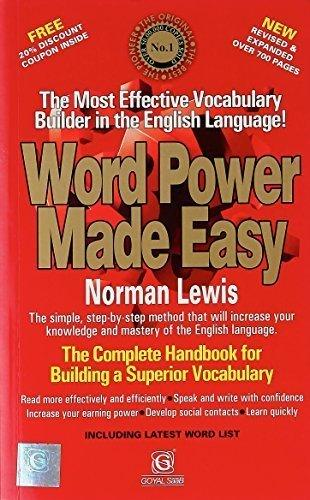 Popular Books Word Power Made Easy Book Retailer From Raipur