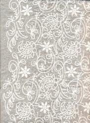 Allover Embroidery Cotton Fabric