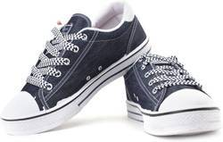 Sparx Blue Canvas Sneakers