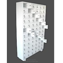 Mobile Phone Locker with 72 Compartments