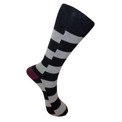 Mens Flat Knit Socks