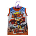 Sleeveless Kids T-Shirt Printing Service