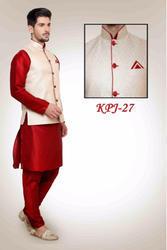 03d6cc155e0 Mens Kurta Pajama With Nehru Jacket at Rs 1890  piece