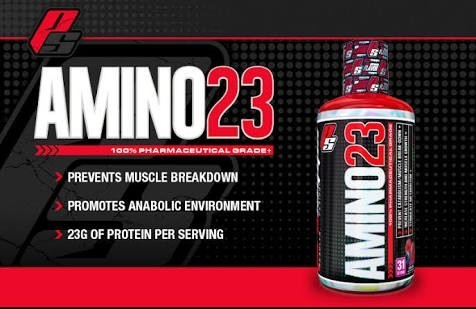Image result for prosupps amino 23 nutritional panel