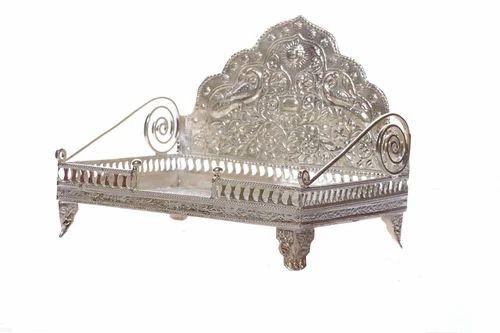 Mondal Home Decor Silver Temple