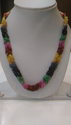 Multi Precious Beads Necklace