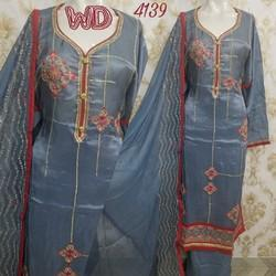 Silk Embroidered Suits