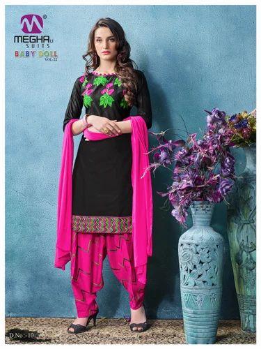 a7ee283d77 Fancy Stylish Patiala Salwar Kameez Suit at Rs 545 /set | Punjabi ...