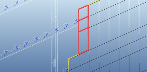 Unitized Curtain Wall System For Office Aurum Gamma