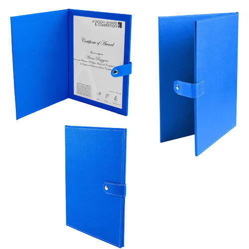 Single Certificate Folder, Certificate Frames - National Handicraft ...