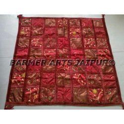 Table Cover Mix Tukdi Velvet Lace
