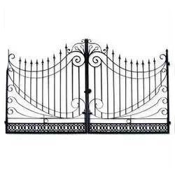 Fancy Iron Gate