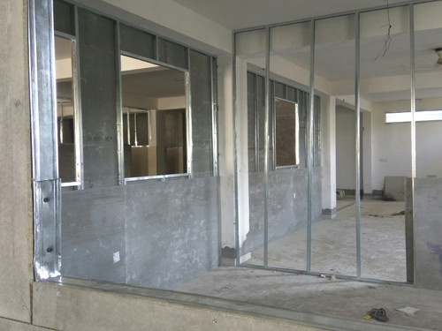 Office Fiber Cement Board Partition Work At Rs 110 Square