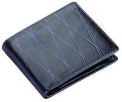 Pbf Black And Brown Corporate Leatherlite Wallets, Size: Rectangular