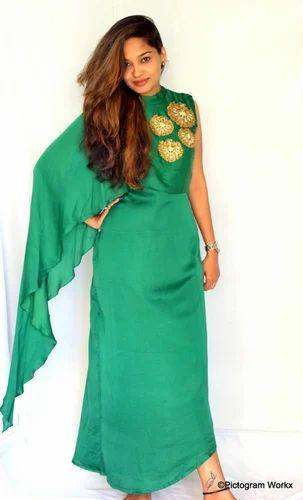 4c17bc78ffe6 Indo-Western Floorlength dresses - Designer Long Indo- Western Gown ...