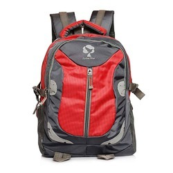 Leben Tree Rambling Red Backpack