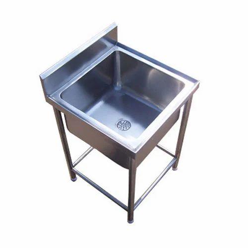 Commercial SS Single Sink Unit
