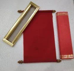 Scroll Card