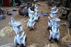 Karar Cast Steel Double Flanged Sluice Valves, Size: 50 -1200 mm