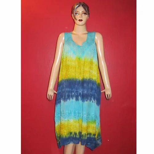 Paras Fashion Ladies Rayon Crepe Short Dress