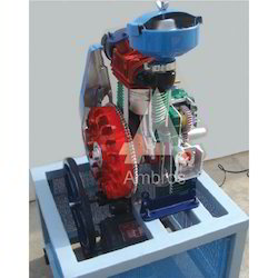 4 Stroke 1 Cylinder Diesel Engine