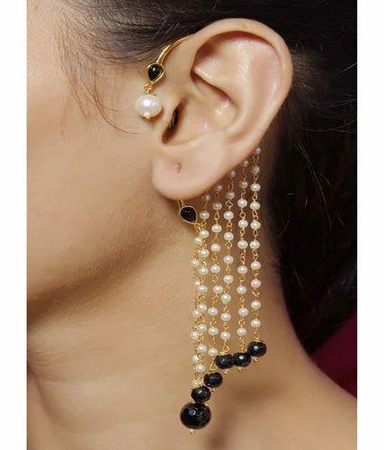 Polki Cuff Earring