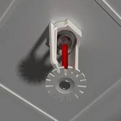 Chrome Plated Pendant Sprinkler Head