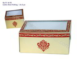 Folding Ladoo 1 Pc Box