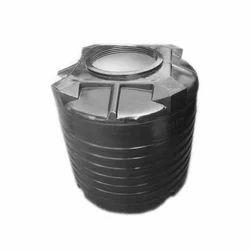 Black Plastic Chemical Tank