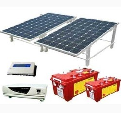 Solar Inverter Battery, Batteries & Charge Storage Devices   Concept