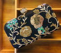 Beautiful Handwork Zardosi Box Clutch