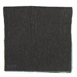 Black Striped Fabric