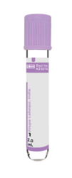 K2 EDTA Vacuum Blood Collection Tube