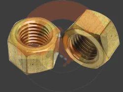 Hexagonal Brass Nuts
