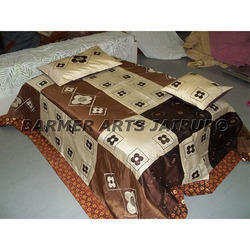 Designer Bed Sheets Silk Fabric