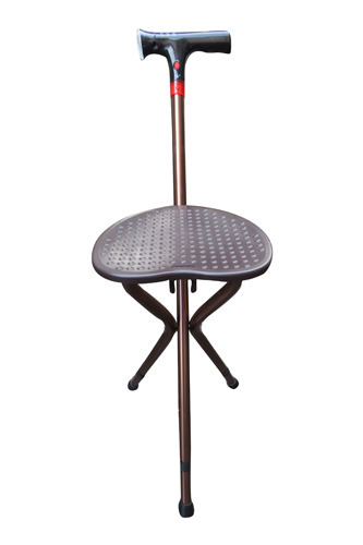 Superb Folding Stool Adjustable Height Walking Stick Electronic Pabps2019 Chair Design Images Pabps2019Com