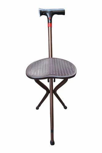 Amazing Folding Stool Adjustable Height Walking Stick Electronic Creativecarmelina Interior Chair Design Creativecarmelinacom