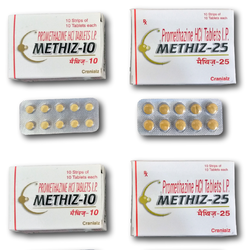 METHIZ-10/25 (Promethazine HCl Tablets I.P)