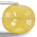 8.42 Carats Yellow Sapphire