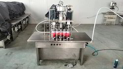 3-In-1 Semi-Automatic Aerosol Filling Machine