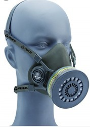 Venus V 500 Half Face Respirator Mask And Multigas Cartridge