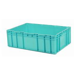 Plastic Green Crate