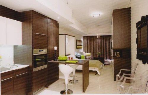 studio apartment interior design solution in sahibabad industrial