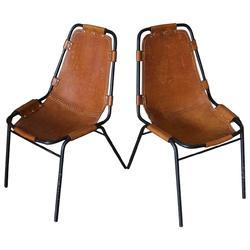 Brown Vintage design Industrial Loft cafe Leather dining chair, Seating Capacity: 1 Person