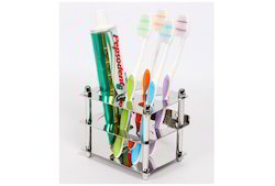 Ciplaplast Ss Stainless Steel Tooth Brush Holder