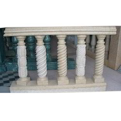 Baluster Stone Railings