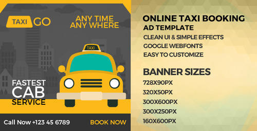 OLA / UBER Type Cab Booking Software (Web and Mobile
