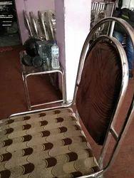 Metal Cushioned Chair