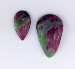 Ruby In Zoisite Loose Cabochons